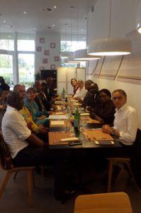 Des échanges entre le fondation Adlucem et l'université de Paris–Saclay