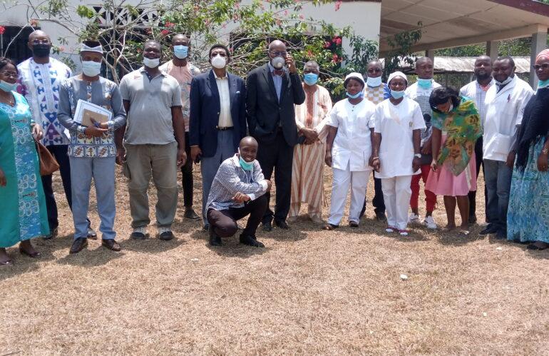 Hôpital Saint Michel de NDEN: Relance des activités