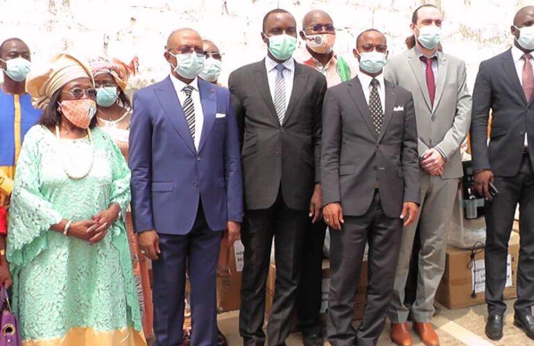 Lutte contre la COVID-19 : La GIZ au secours du personnel de la Fondation Médicale Adlucem–Cameroun