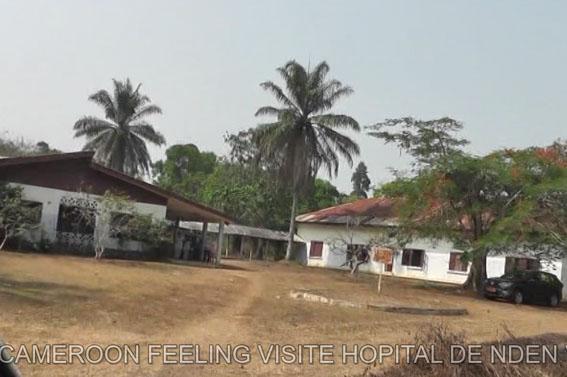 Cameroon feeling visite Hôpital de Nden
